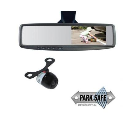 Buy Parksafe Reverse Camera With Mirror Monitor Combo in Australia - Point to Point Distributions