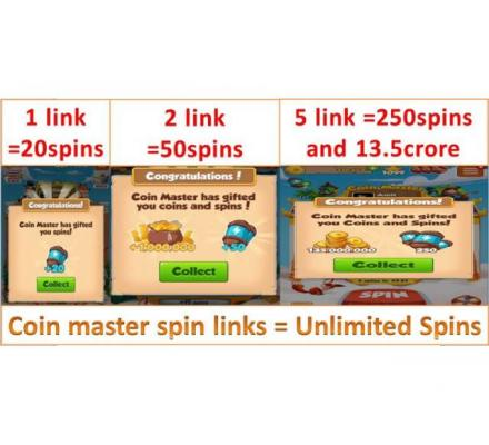 Make your own free spin links