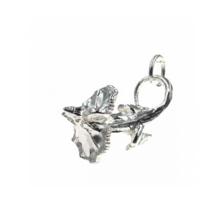 Frilled Neck Lizard Charm