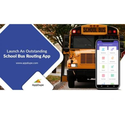 Manage your fleet with a school bus routing software