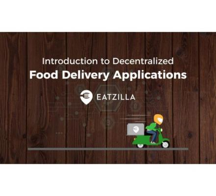 First Blockchain Food Delivery App