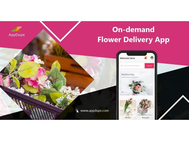 Reach out to a wider audience with the best Online Flower Delivery Service App
