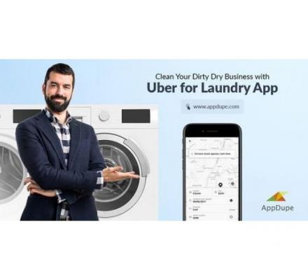 Promote your business with a Uber for Laundry app development