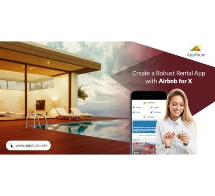 Provide rental services with Airbnb for X app development