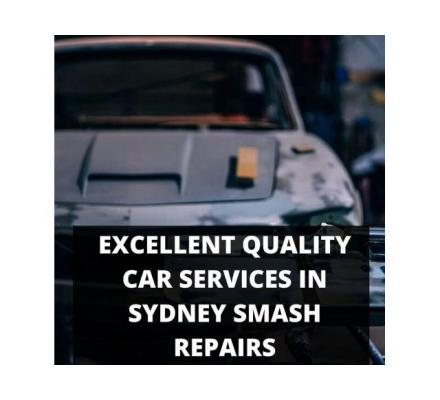 Excellent Quality Car Services in Sydney Smash Repairs