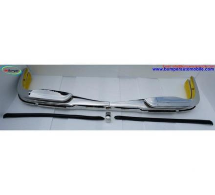 Mercedes W108 W109 bumper (1965-1973) by stainless steel