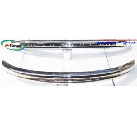 Volkswagen Beetle bumpers 1975 and on wards by stainless steel