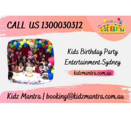 Hire Kids Birthday Party Entertainer in Sydney   Call 1300030312