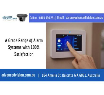 A Grade Range of Alarm Systems with 100% Satisfaction | Call us : 0403 596 231