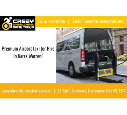 Premium Airport taxi for Hire in Narre Warren! | Contact us : 0413789056