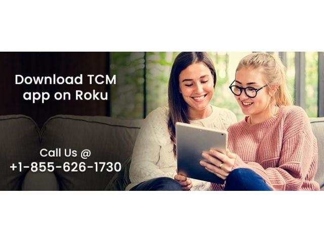 How to download TCM App on Roku?