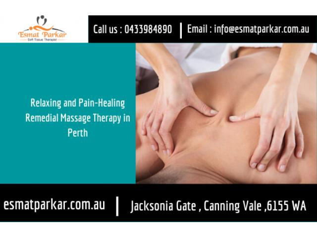 Relaxing and Pain-Healing Remedial Massage Therapy in Perth | Call : 0433984890