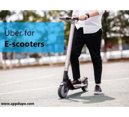 Rule the market with an On-demand E-Scooter App Development