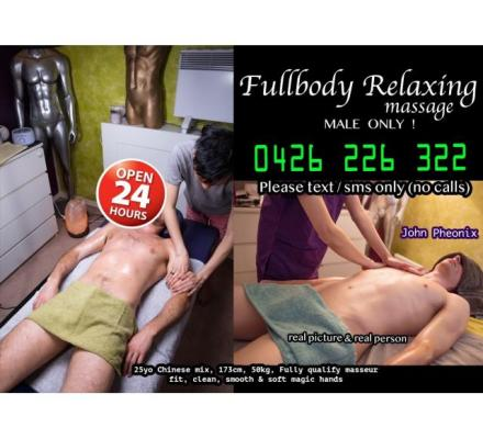 🔵🔵 Male on Male FullBody Massage 💙💙 0426 226 322