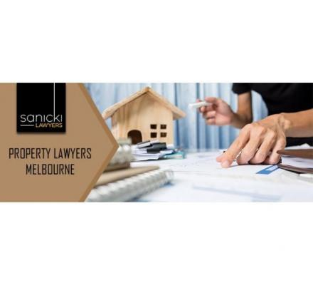 Best Property Lawyers Melbourne – Sanicki Lawyers
