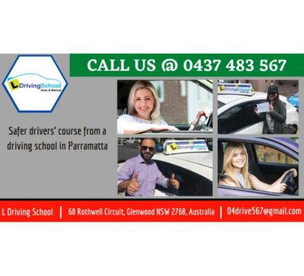 Safer drivers' course from a driving school in Parramatta | Call @ 0437 483 567