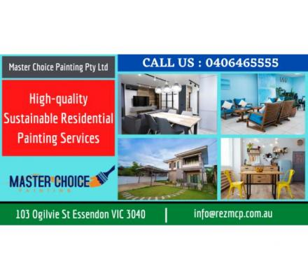High-quality Sustainable Residential Painting Services | Call : 0406465555