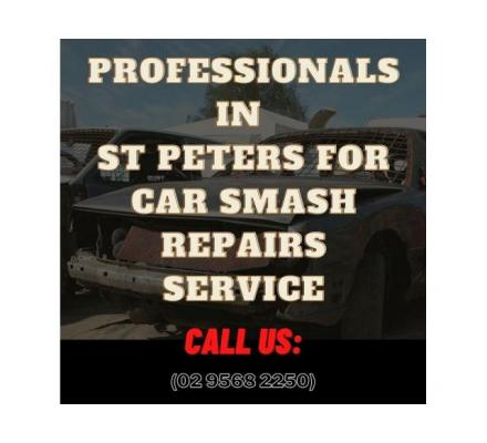 Professionals in St Peters for Car Smash Repairs Service
