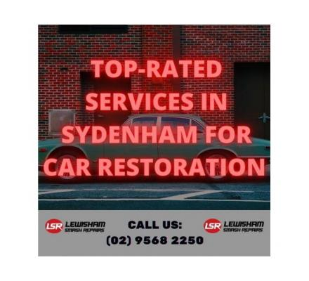 Top-Rated Services in Sydenham for Car Restoration