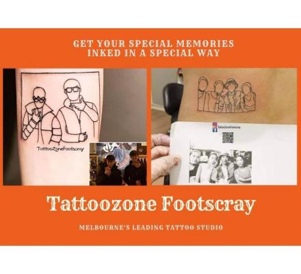 Tattoo Parlour Melbourne | Tattoo Zone Footscray