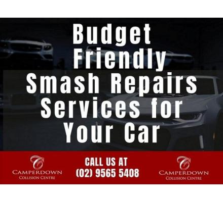 Budget Friendly Smash Repairs Services for Your Car