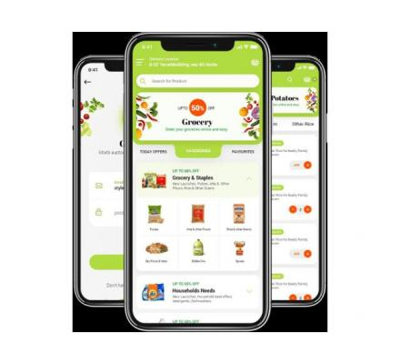 Get a fully loaded on-demand grocery shopping solution for your business