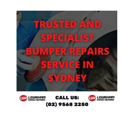 Trusted and Specialist Bumper Repairs Service in Sydney