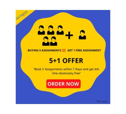 Grab The 5+1 offers and Up to 50 wealthy On the Panel on Assignments