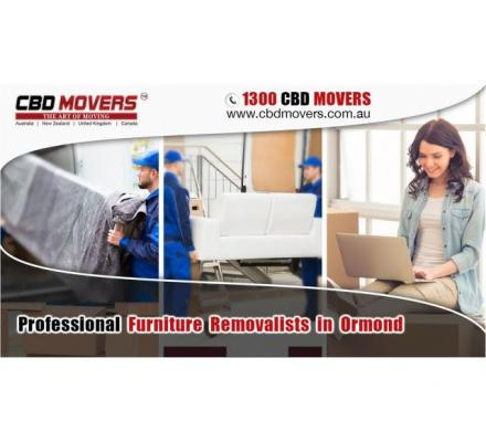 Furniture Removalists in Ormond VIC