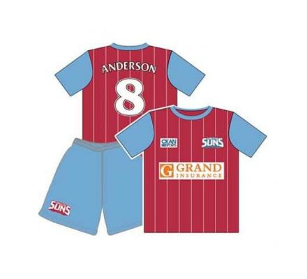 Custom made soccer uniforms and Soccer jerseys in Perth, Australia - Mad Dog Promotions