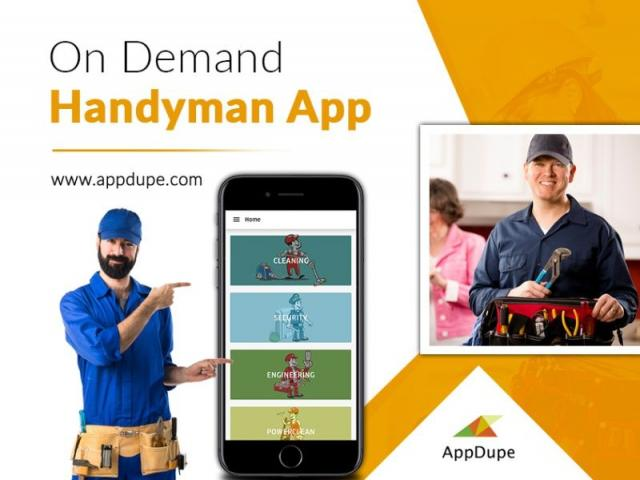 Enable your users to avail of handyman services with the help of Uber for the handyman