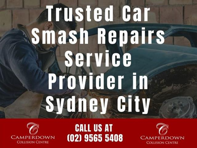 Trusted Car Smash Repairs Service Provider in Sydney City