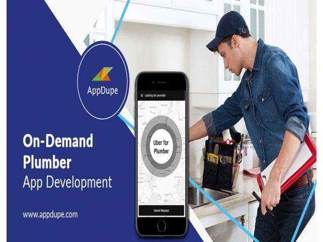 Provide plumbing services for your users using Uber for plumbers app