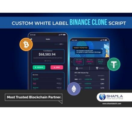 Binance Clone script with highly customizable options