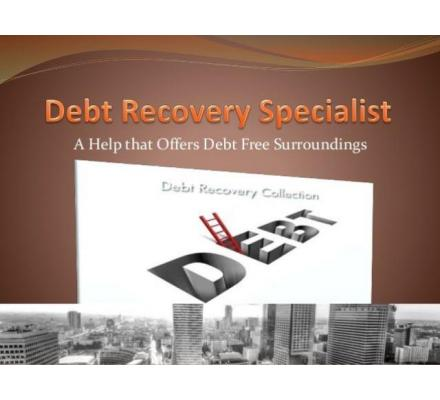 Get your hands on Reliable Debt Recovery Services