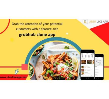 How to build an app like grubhub and establish your brand in the market?
