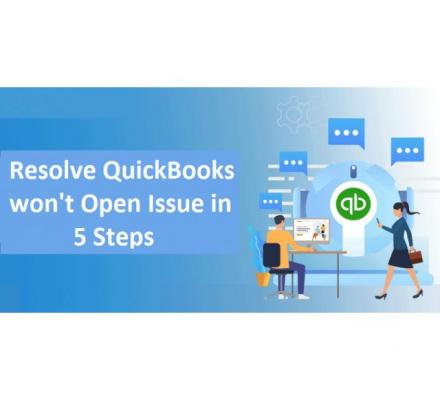 Certified experts are available to solve QuickBooks won't open