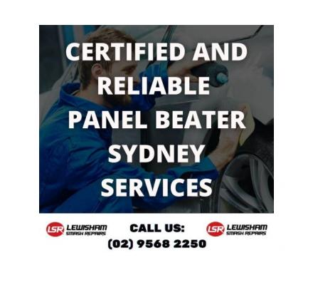 Certified and Reliable Panel Beater Sydney Services