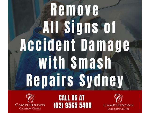 Remove All Signs of Accident Damage with Smash Repairs Sydney