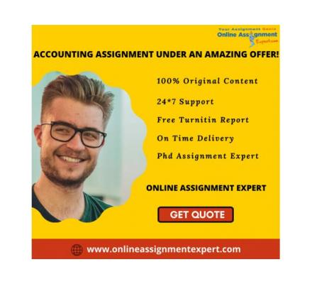 I am Counting on Accounting assignment help, Are you?