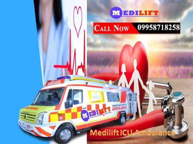 Helpful and Reliable Ambulance Service in Gaya by Medilift