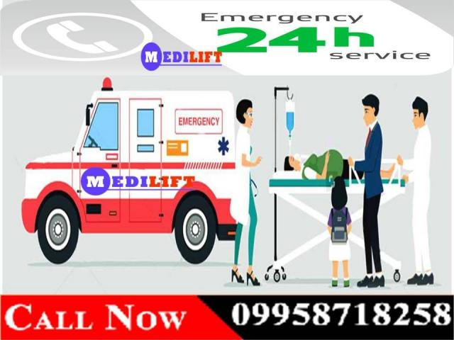 India Based Ambulance Service in Bhagalpur at Low Fare