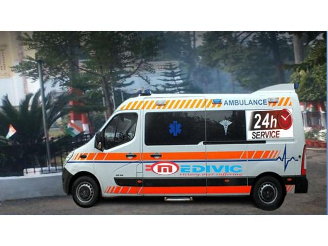 Hire Superior Ambulance Service in Kankarbagh- at Very Low-Fare