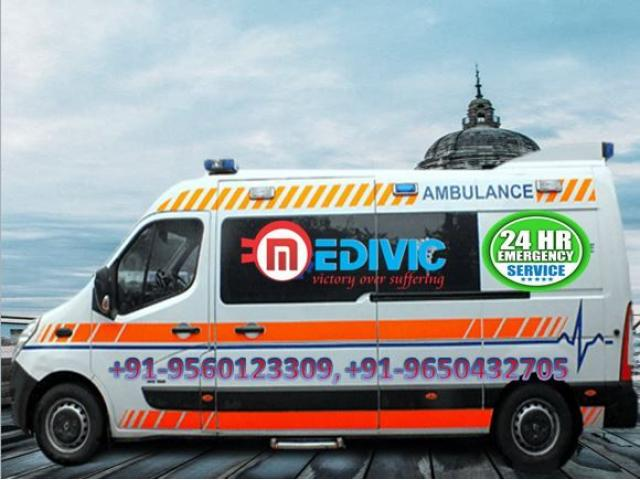 Hire Medical Emergency Ambulance Service in Hajipur by Medivic