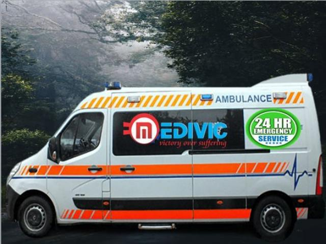 Book Country Best Ambulance Service in Gandhi Maidan-Patna by Medivic