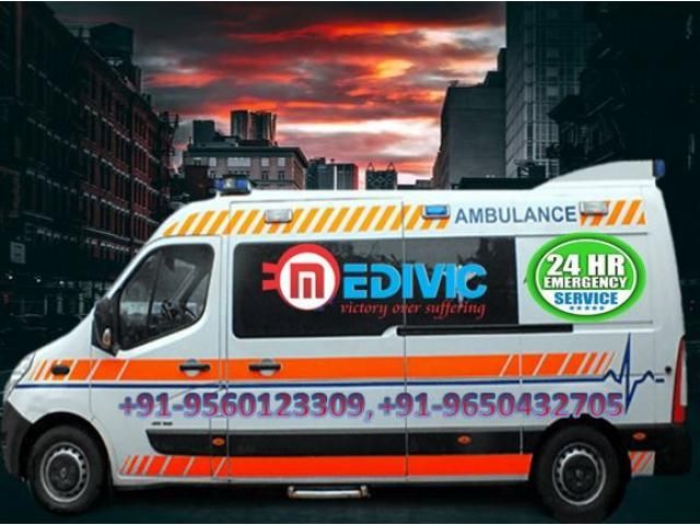 Get Country Fastest Ambulance Service in Mahendru-Patna by Medivic
