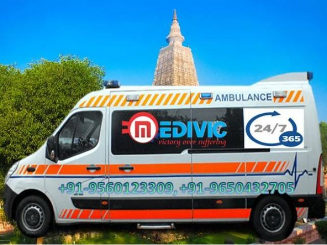 Get Superior Ambulance Service in Punaichak-Patna with ICU Setup