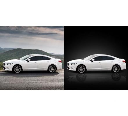Car Image Editing Service | Background Removal or Replacement