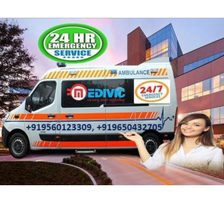 Hire Cardiac Ambulance Service in Anishabad-Patna-Medical Support