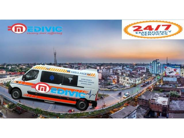 Hire Medical Support Ambulance Service in Gaya by Medivic d.com